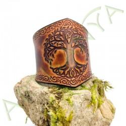 vue de couverture du Bracelet Ilythiir Yggdrasil_ couleur marron