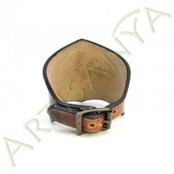 vue de dos du Bracelet Ilythiir Yggdrasil_ couleur marron