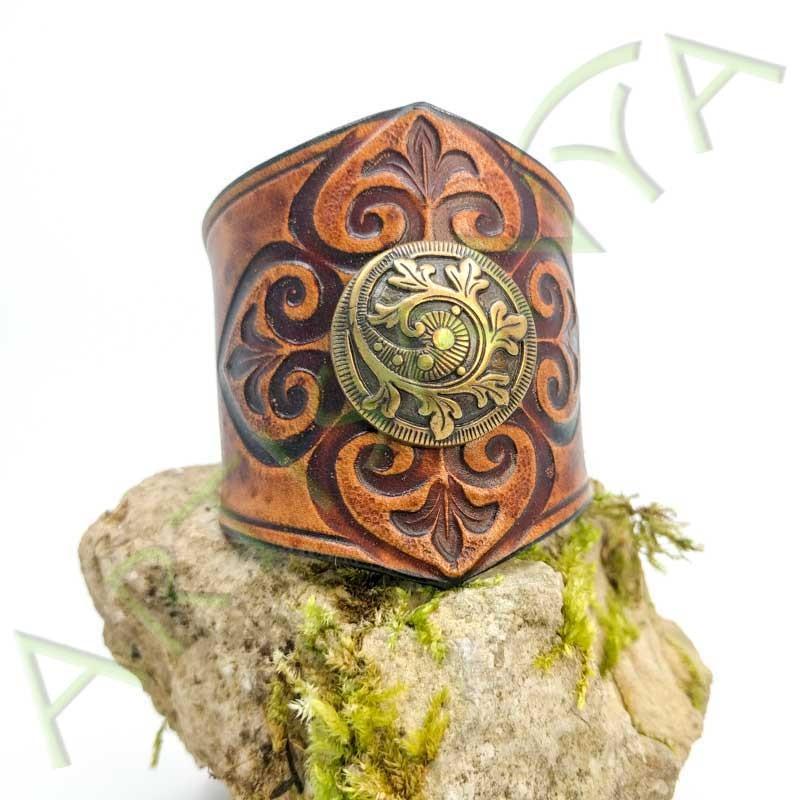 vue de couverture du Bracelet Ilythiir Force of nature_couleur marron