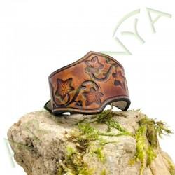 vue de couverture du Bracelet Famar lierre_couleur marron