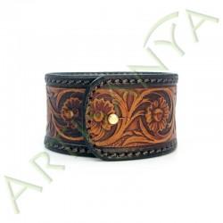 vue de dos du Bracelet Balrog_ Floral