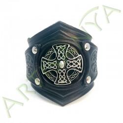 vue de face du Bracelet Ragnar_VegCeltique