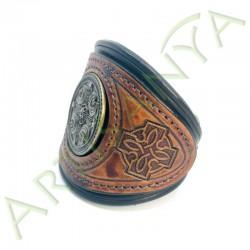 vue de 3/4 du Bracelet Khal Drogo_The North