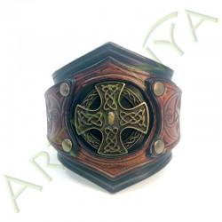 vue de face du Bracelet Ragnar_Triskel